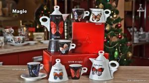 чашки с бабочками